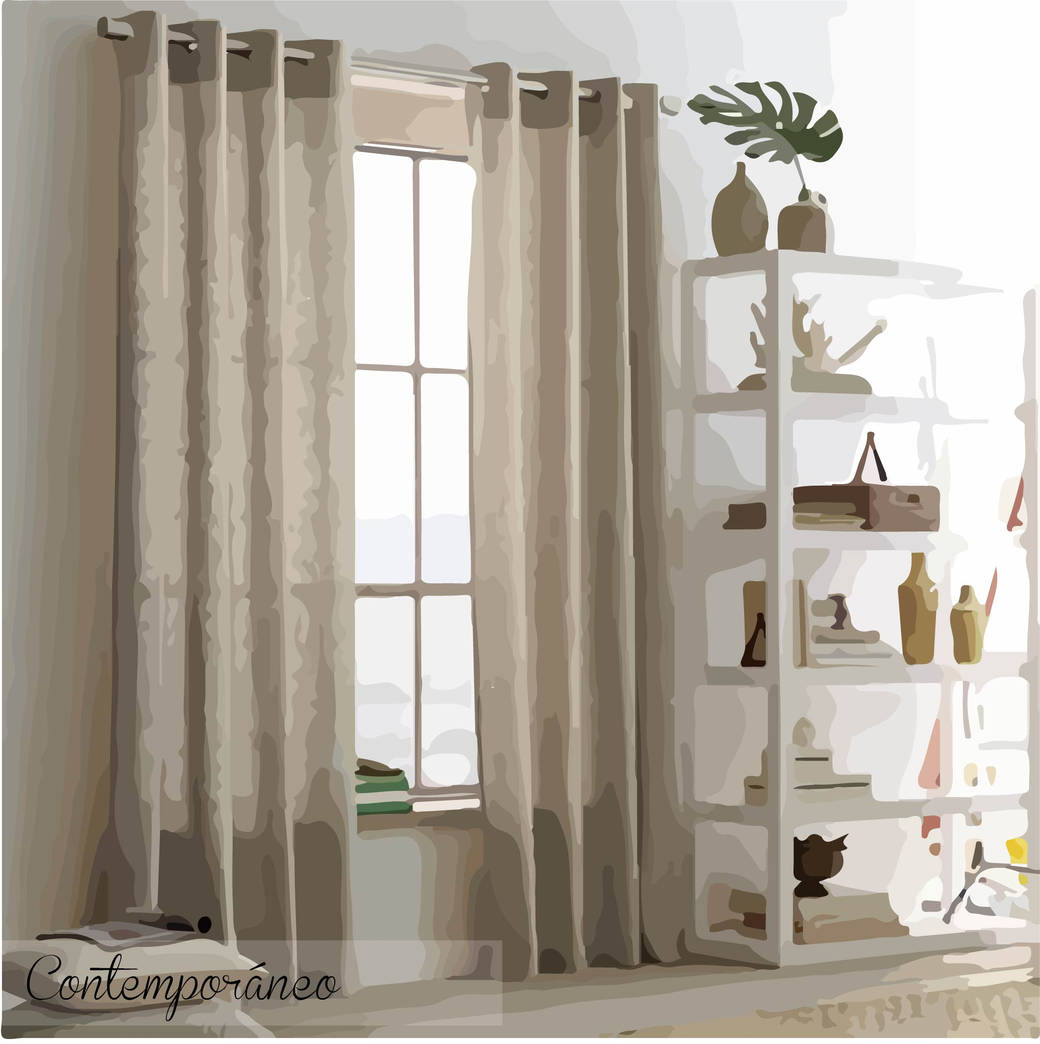 Ideas para decorar tu casa con cortinas me lo dijo lola for Cortinas de salon ikea