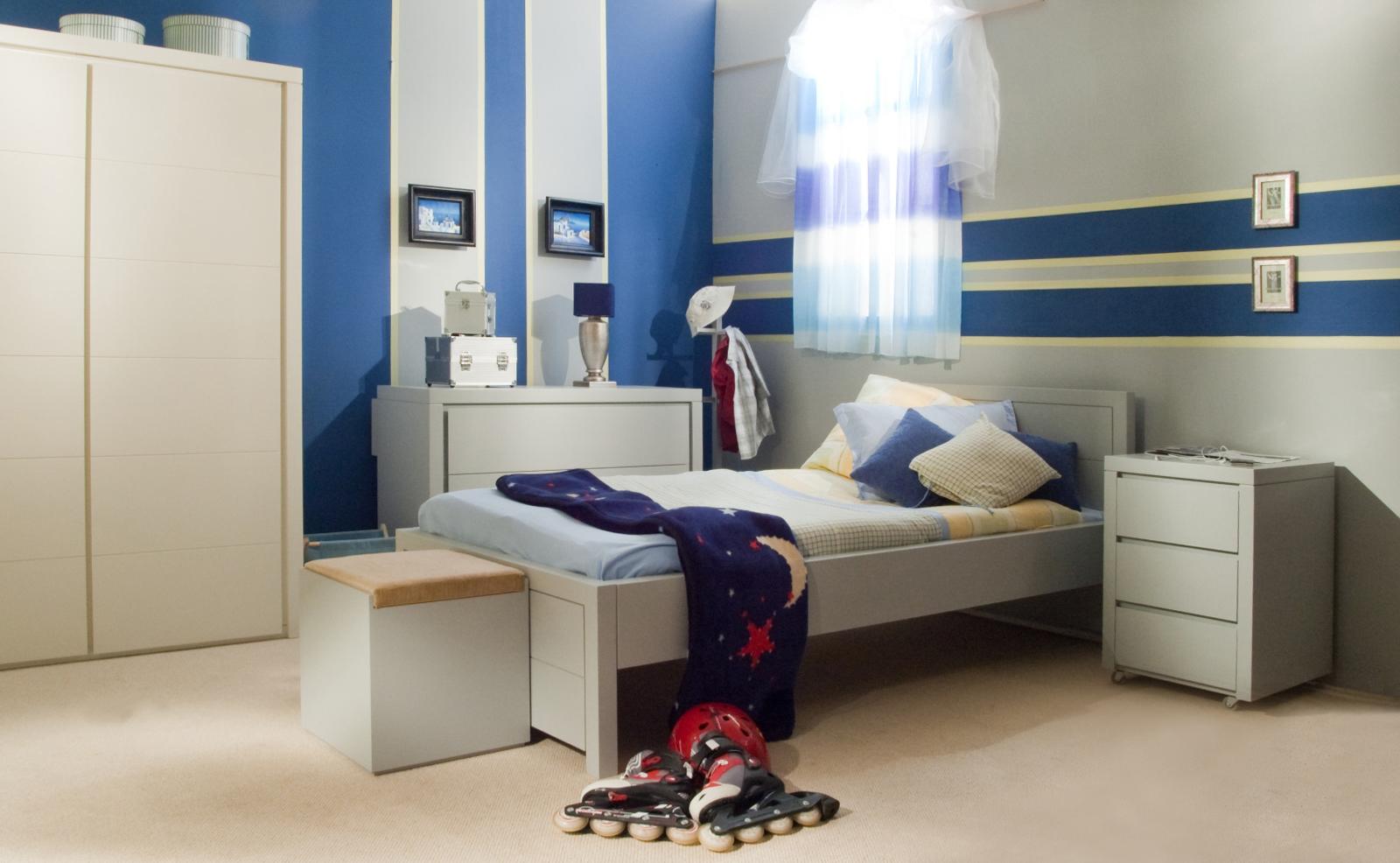 Como ordenar el cuarto de ni os me lo dijo lola - Parete a righe camera da letto ...
