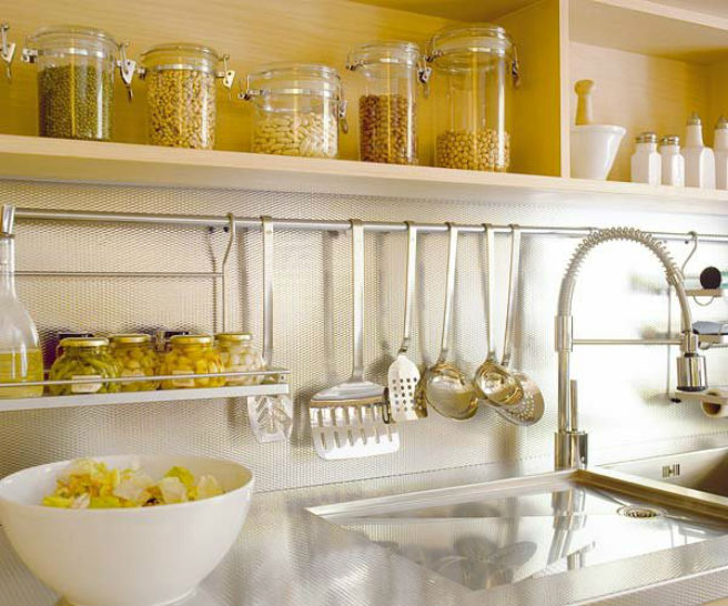 Atractivo Ideas Pequeñas De Almacenamiento De Fotos De La Cocina ...