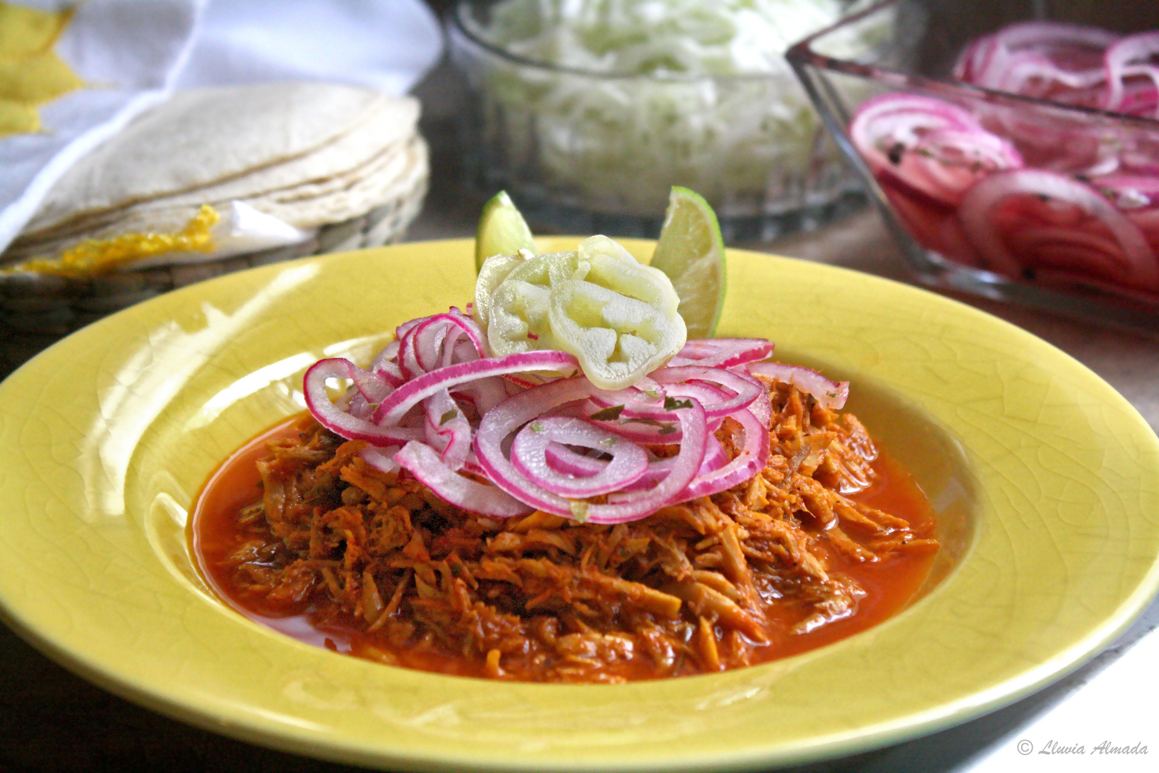 cocinar cochinita pibil