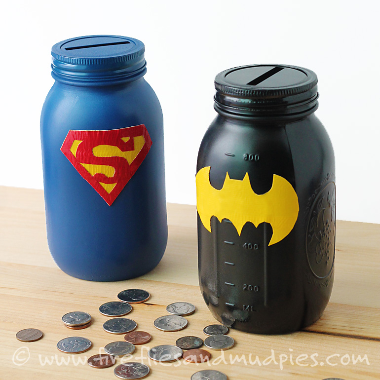 Easy to make homemade piggy bank/container Find this Pin and more on I love love!! by Kathy HK. Easy to make homemade piggy bank/container to put anything in! All you need is construction paper, tape, double sided tape, ribbon and whatever decorating items you want to use. Simple, fast,cute and a great way to recycle items! See more.