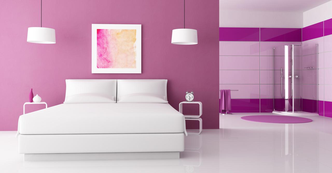El significado de los colores me lo dijo lola for Habitacion lila y blanca