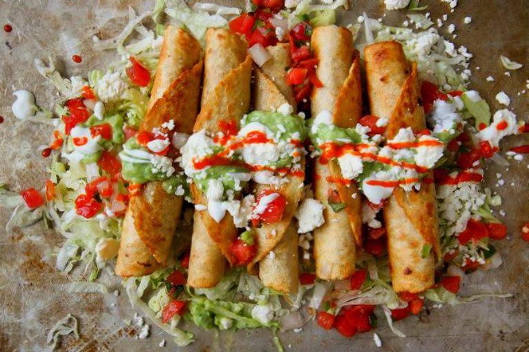 Dorados Image: Tacos Dorados De Zanahoria