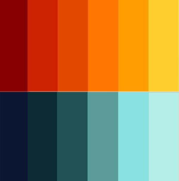 Tips para escoger una paleta de colores me lo dijo lola - Gama de colores verdes ...