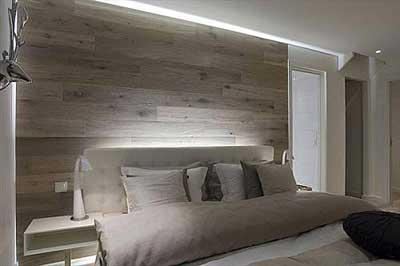 cabecero de cama original pared de madera lo dijo lola me lo dijo lola