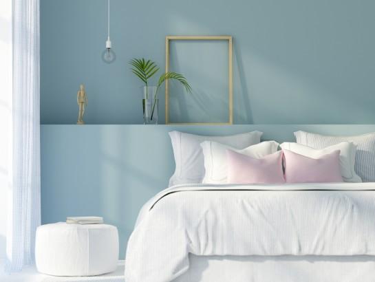 Por qué deberías pintar tu habitación de azul
