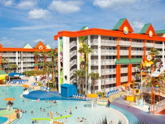 Hotel Nickelodeon: ¡parque temático frente al mar!