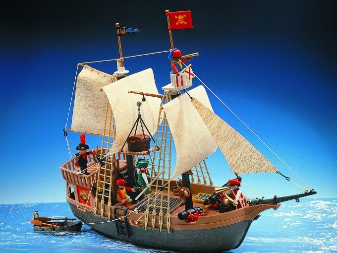 Play mobil: no importa si era el barco, el castillo o la casa,  nunca te lo traían