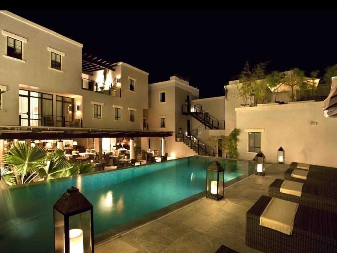 Matilda, San Miguel Allende. Esta ciudad romántica con su arquitectura colonial alberga uno de los mejores hoteles minimalistas.