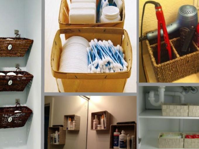 Canastas para organizar el ba o me lo dijo lola for Productos para el bano