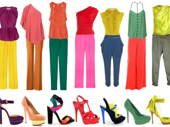 Combinar colores de ropa me lo dijo lola - Que colores pegan ...