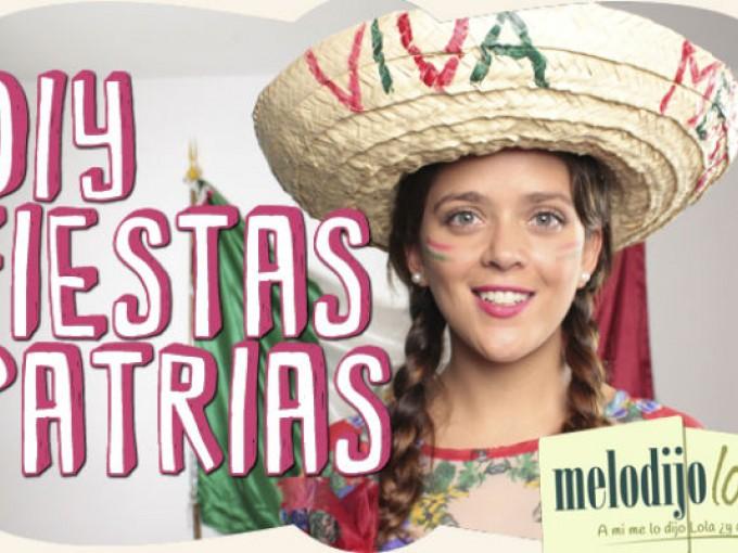 DIY Fiestas patrias