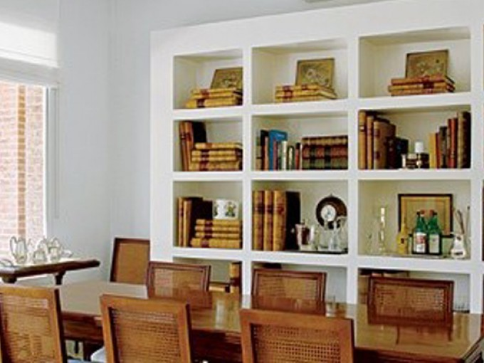 Decoraci n con libros me lo dijo lola for Decoracion con libros