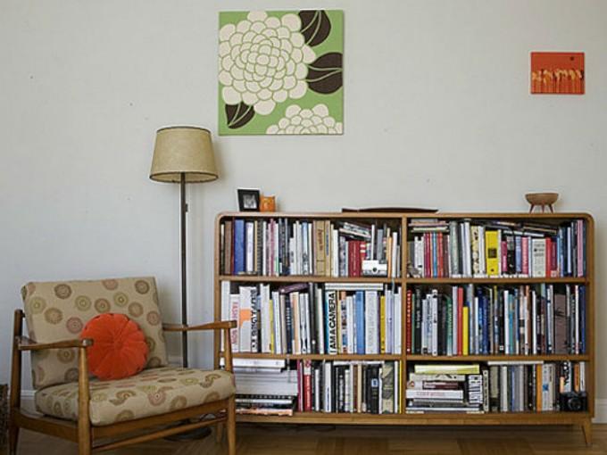libreros para decorar la casa
