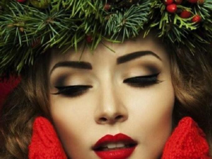 maquillaje para navidad 2016