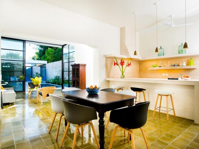 Usa muebles viejos para darle un nuevo giro a tu comedor