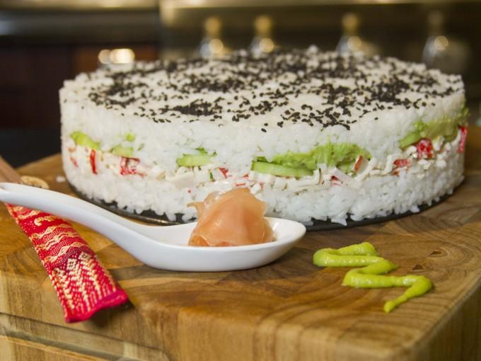 Receta de pastel de sushi me lo dijo lola for Comida sin estufa