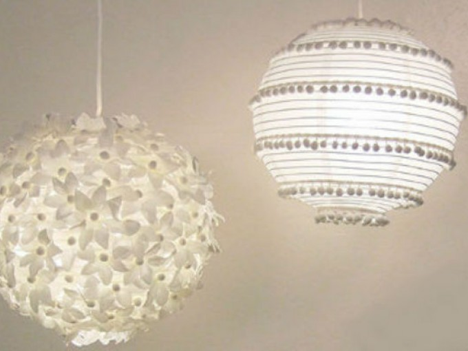 Tips de decoraci n con l mparas me lo dijo lola - Lamparas de techo hechas en casa ...