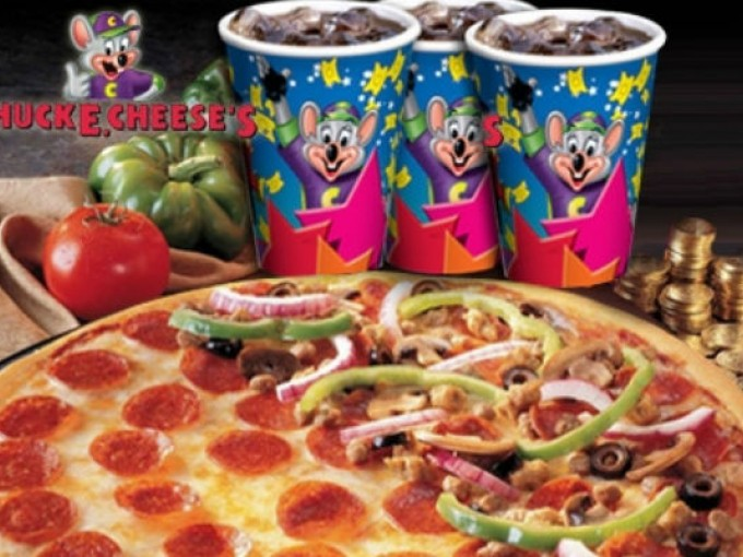 Chuck E Cheese Food Menu