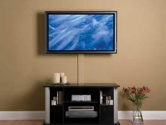 C mo ordenar los cables de la tv me lo dijo lola - Tv en la pared ...