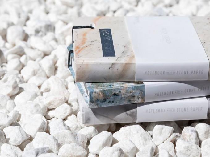 Papel de piedra cuadernos perfectos para regalar me lo for Papel piedra pared