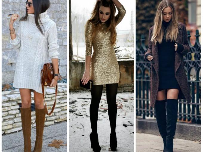 Como usar vestidos para invierno | Me lo dijo Lola