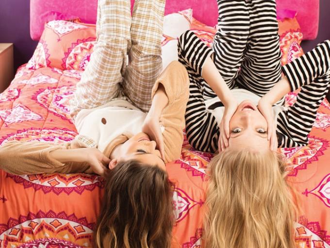 5 pijamas divertidísimas para una pijamada con tus amigas