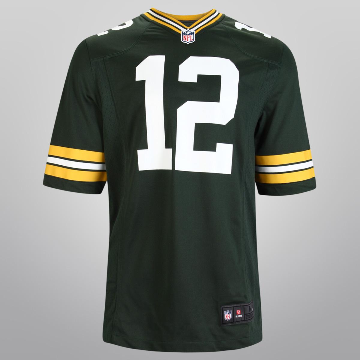 Nuevo 12 Green Bay Packers Aaron Rodgers Jersey para hombre #12 NFL leyenda juego limitado- mostrar título original