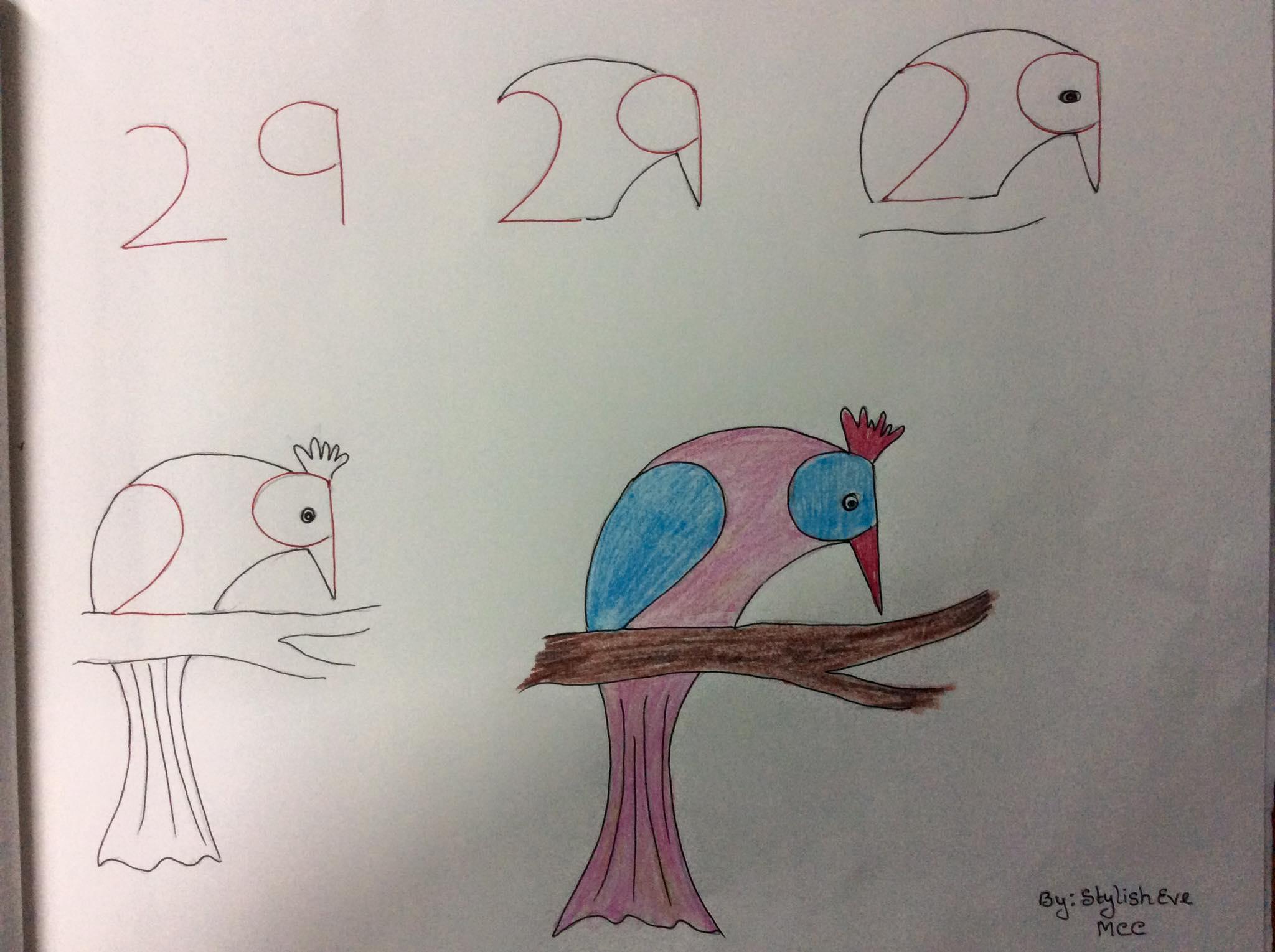 Enseña A Tus Hijos A Dibujar A Partir De Números Y Letras Me Lo