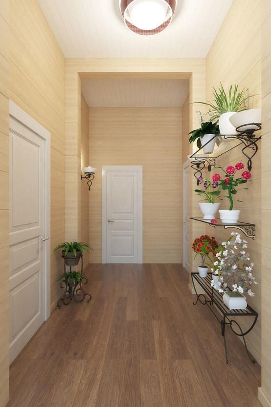 C mo decorar los pasillos de tu casa me lo dijo lola - Decoracion de paredes de pasillos ...