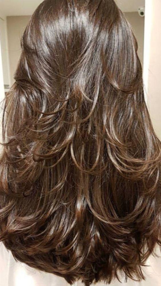 Las capas de darán movilidad a tu cabello.