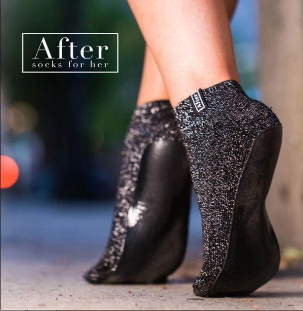 nuevo baratas gama exclusiva bien baratas No más pies adoloridos! Crean calcetines con suela para ...