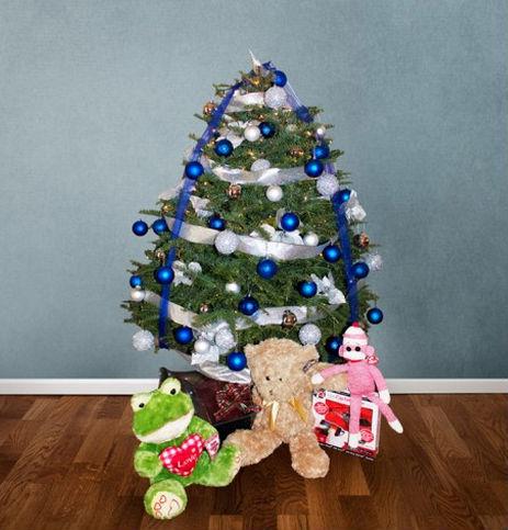 Arboles de navidad para comprar beautiful gracioso y antiguo rbol de navidad para muecas aos - Comprar arboles de navidad decorados ...