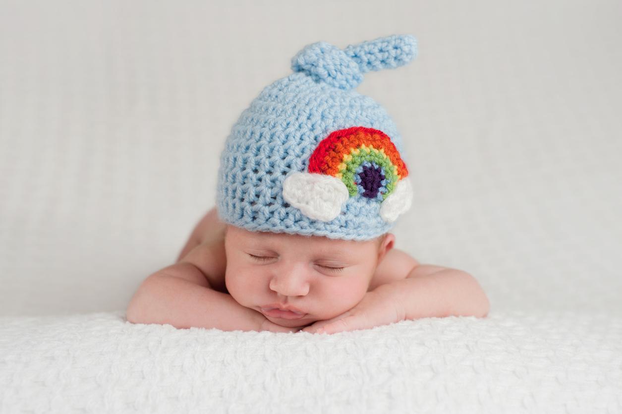 Bebé arcoíris trae esperanza después de la tormenta