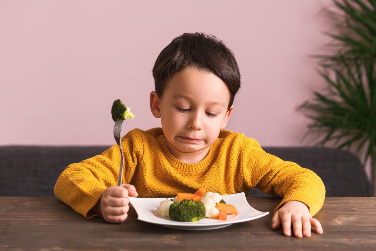 No le gusta el brócoli, ¿será?