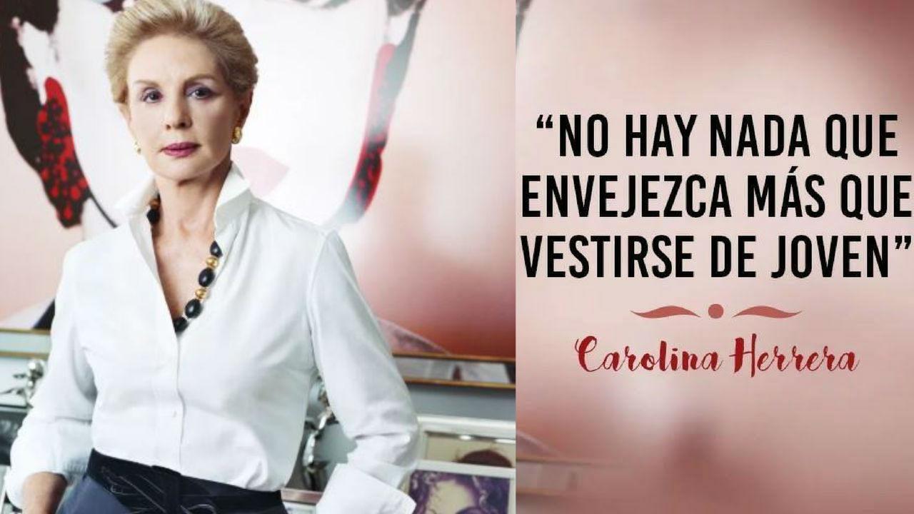 Amigas Maduras la crítica de carolina herrera a las mujeres maduras que