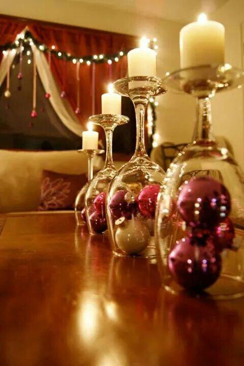 Centros de mesa para navidad con velas me lo dijo lola - Centro de navidad con velas ...