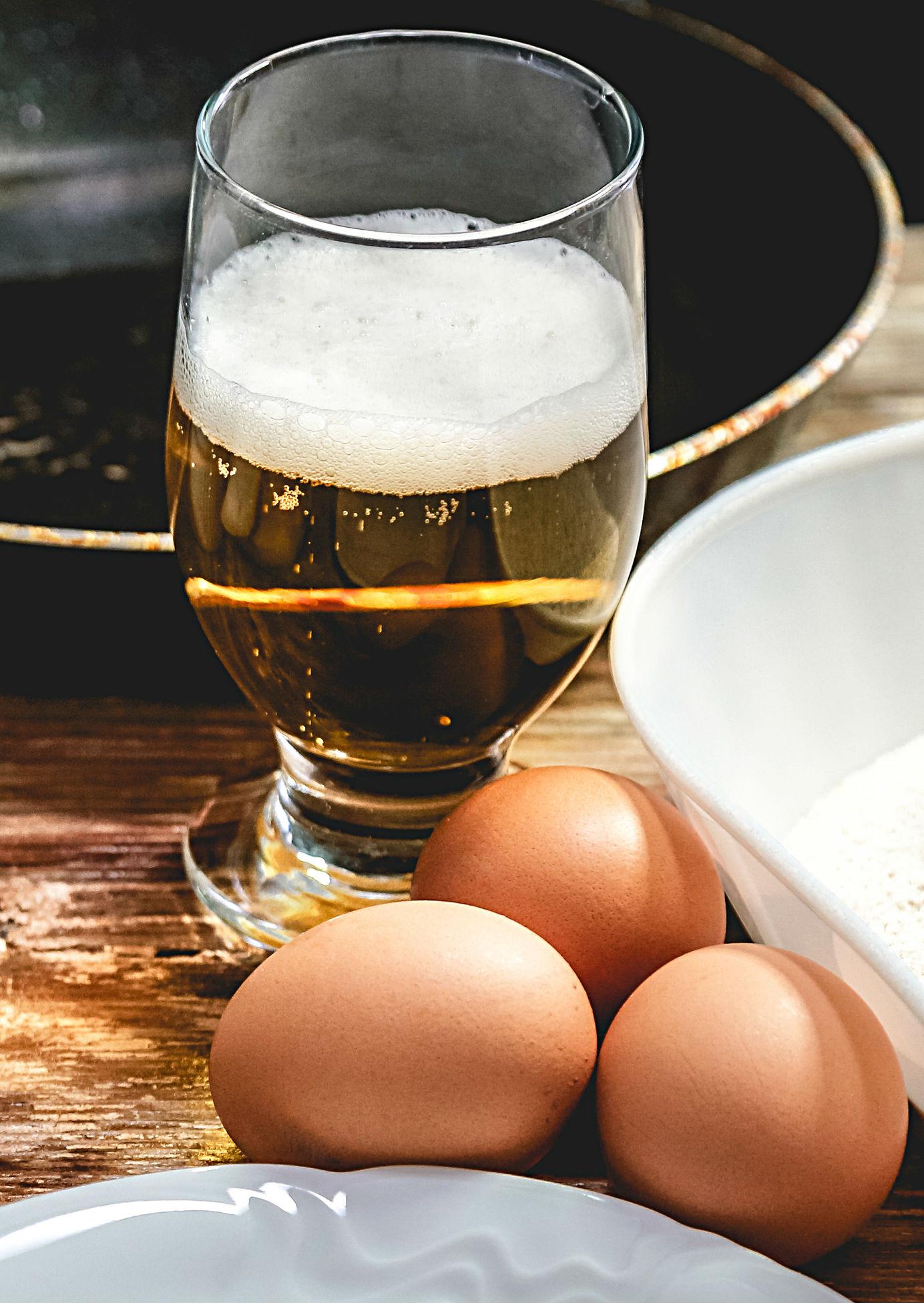 Cerveza y huevo para el cabello