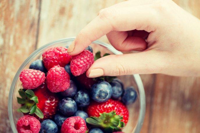Come frutos rojos
