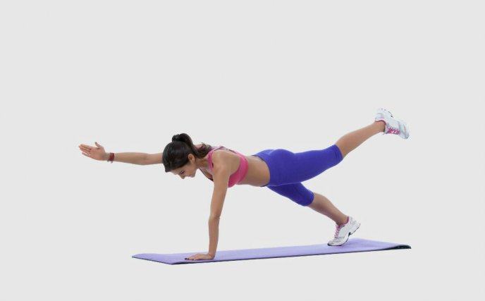 Diagonal Plank