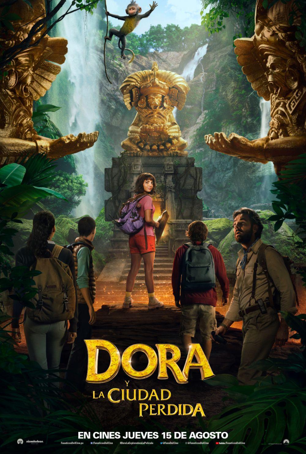 Póster Dora y la Ciudad Perdida