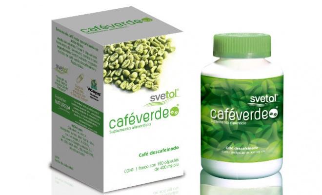¿Ya probaron el café verde Svetol?