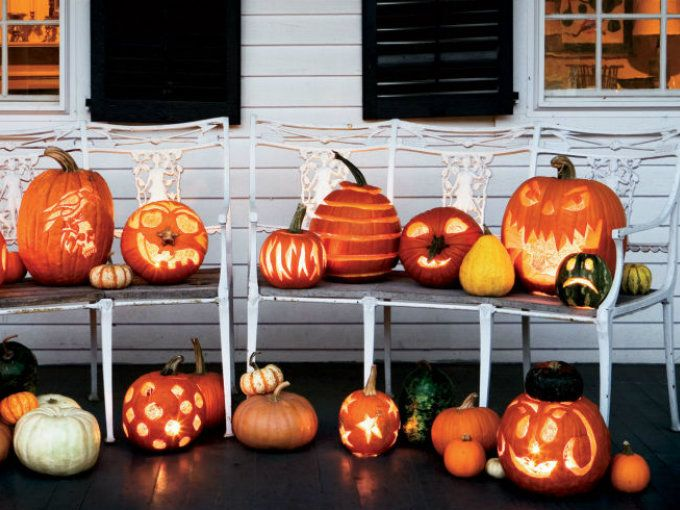 5 ideas para decorar la casa en halloween con calabazas for Como decorar una calabaza original