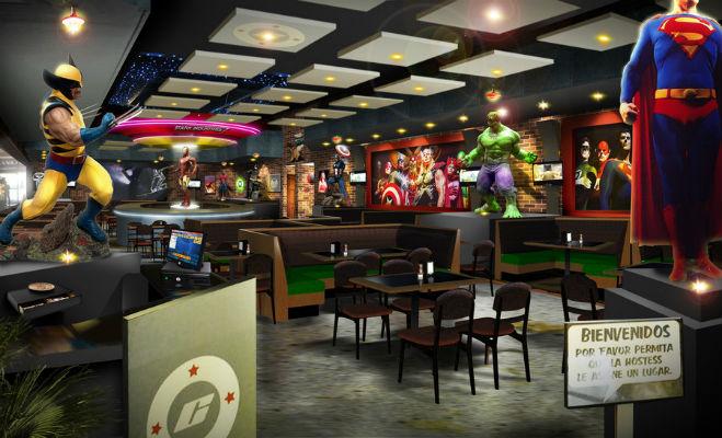 Comicx restaurante para dia del ni o me lo dijo lola - Decoracion de bares tematicos ...