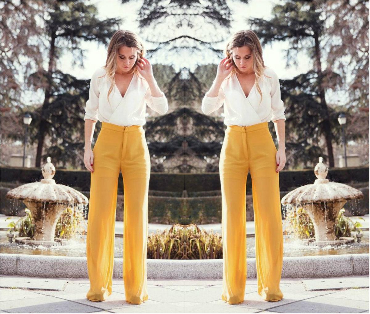 mejor amado 893a4 53c88 Ideas increíbles para llevar pantalones anchos (no importa ...