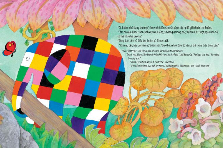 Elmer, un libro que les enseñará a tus hijos sobre los valores