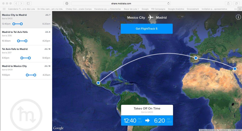 Flight Track: una app que necesitas si vas a viajar