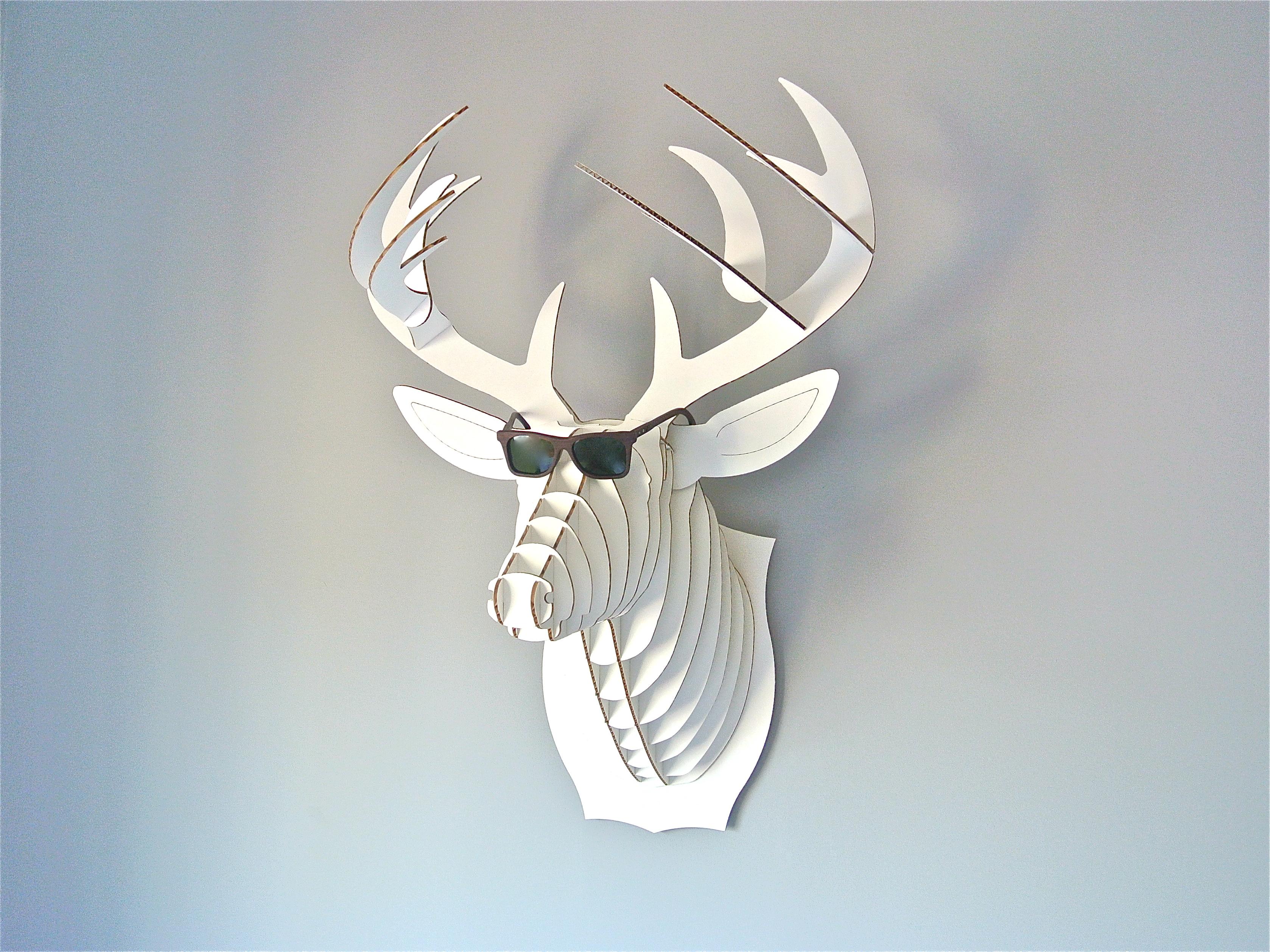 Cabeza de ciervo decoracion me lo dijo lola for Cabeza de ciervo