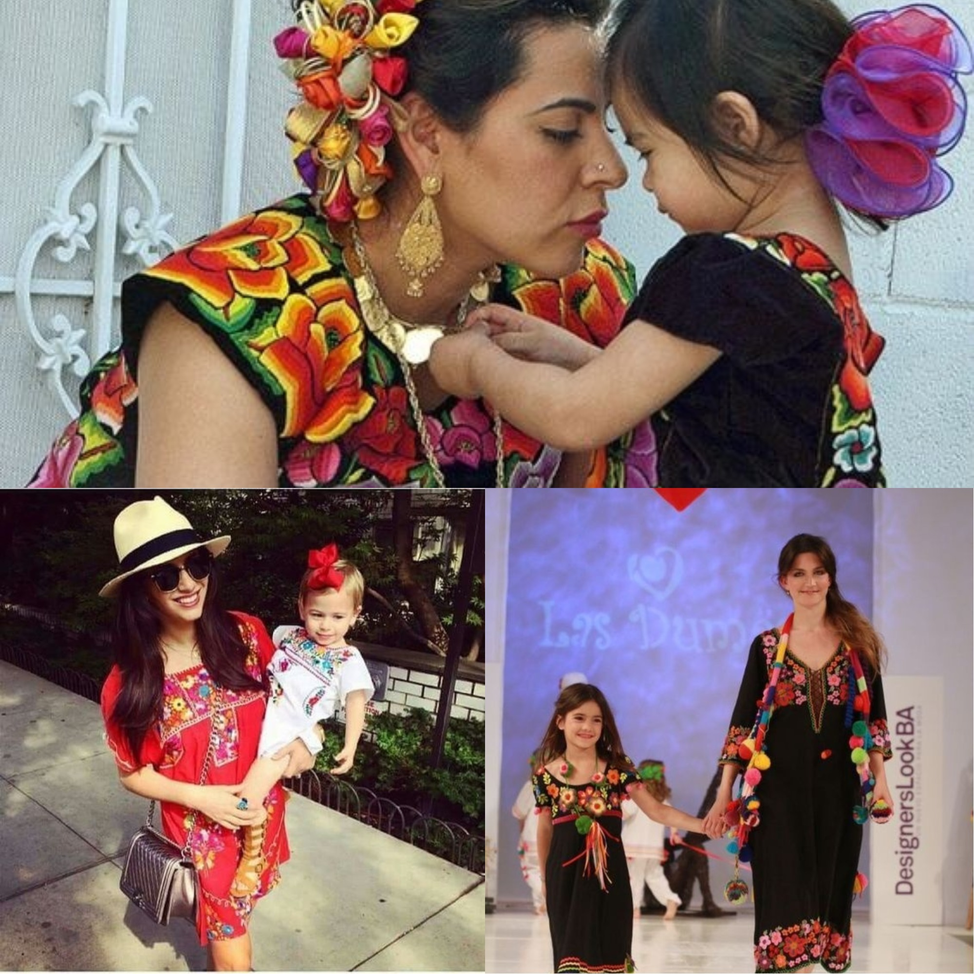 97a3109397 Hermosos huipiles para mamá e hija