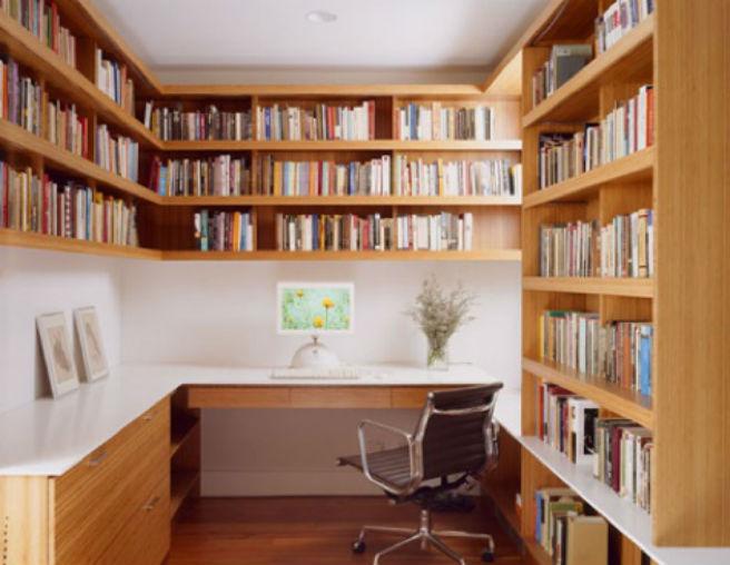Decoraci n con libreros me lo dijo lola for Libreros originales